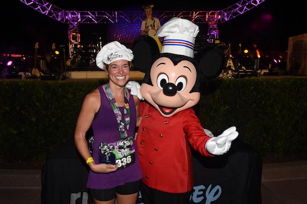 Disney PhotoPass Service during the Disney Wine & Dine Half Marathon Weekend