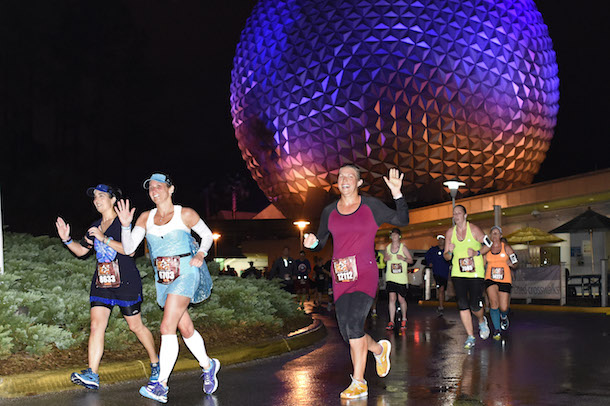 Disney PhotoPass Service during the Disney Wine & Dine Half Marathon Weekend