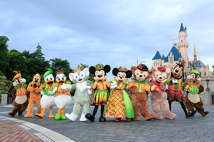 Celebrating Halloween at Disney Parks Around the World