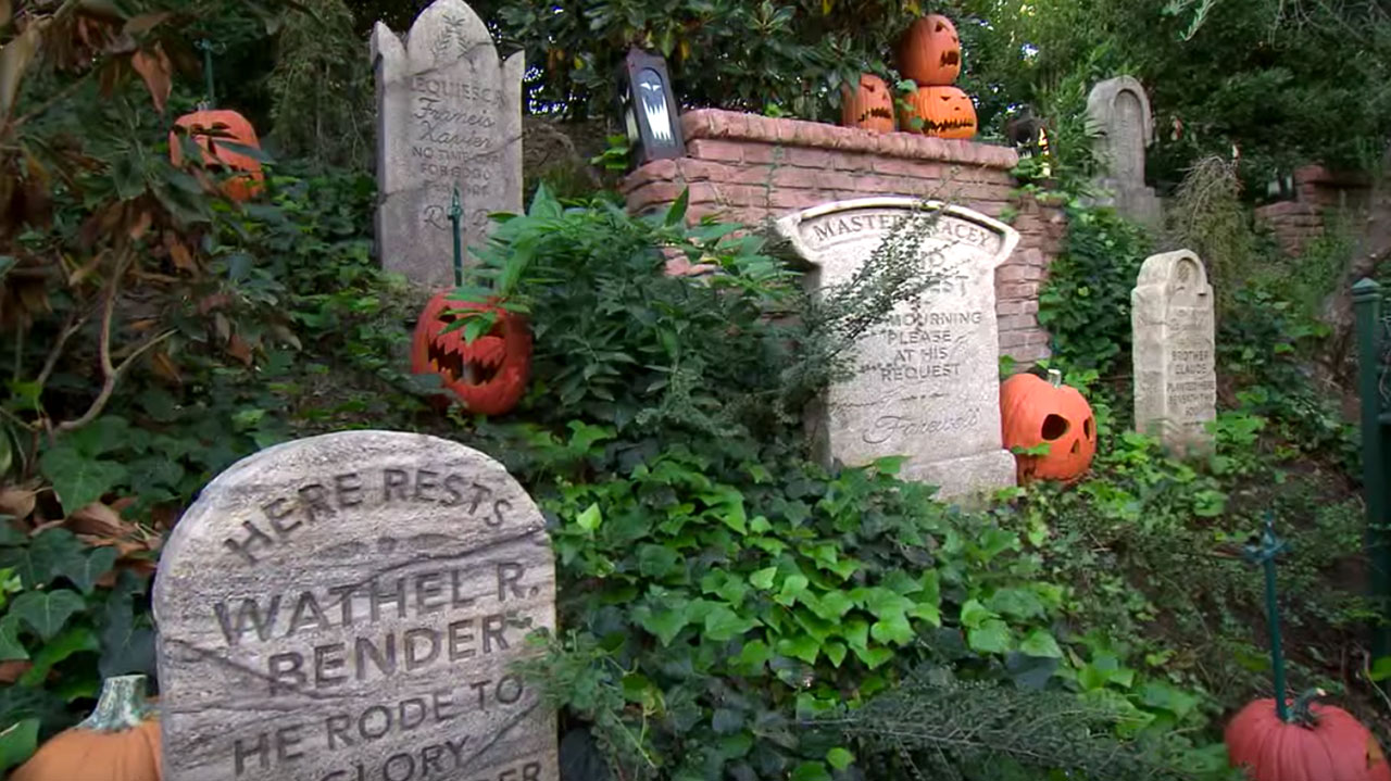 Haunted Mansion Headstones Return to Disneyland Park