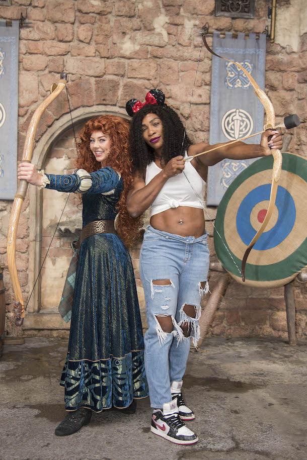 Tennis Megastar Serena Williams Visits Walt Disney World Resort