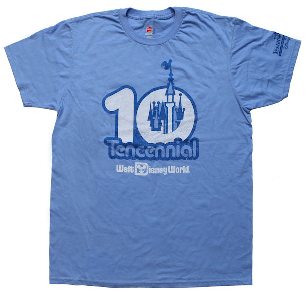 Tencennial Celebration Shirt Coming to The YesterEars Collection