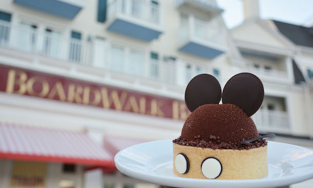 Heritage Mickey Dessert from BoardWalk Bakery