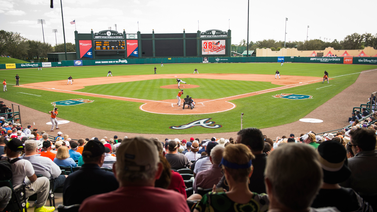 Atlanta Braves' 20th Annual Spring Training Schedule at Disney Announced
