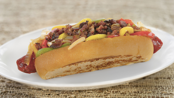 Bacon Street Dog from Award Wieners in Disney California Adventure Park