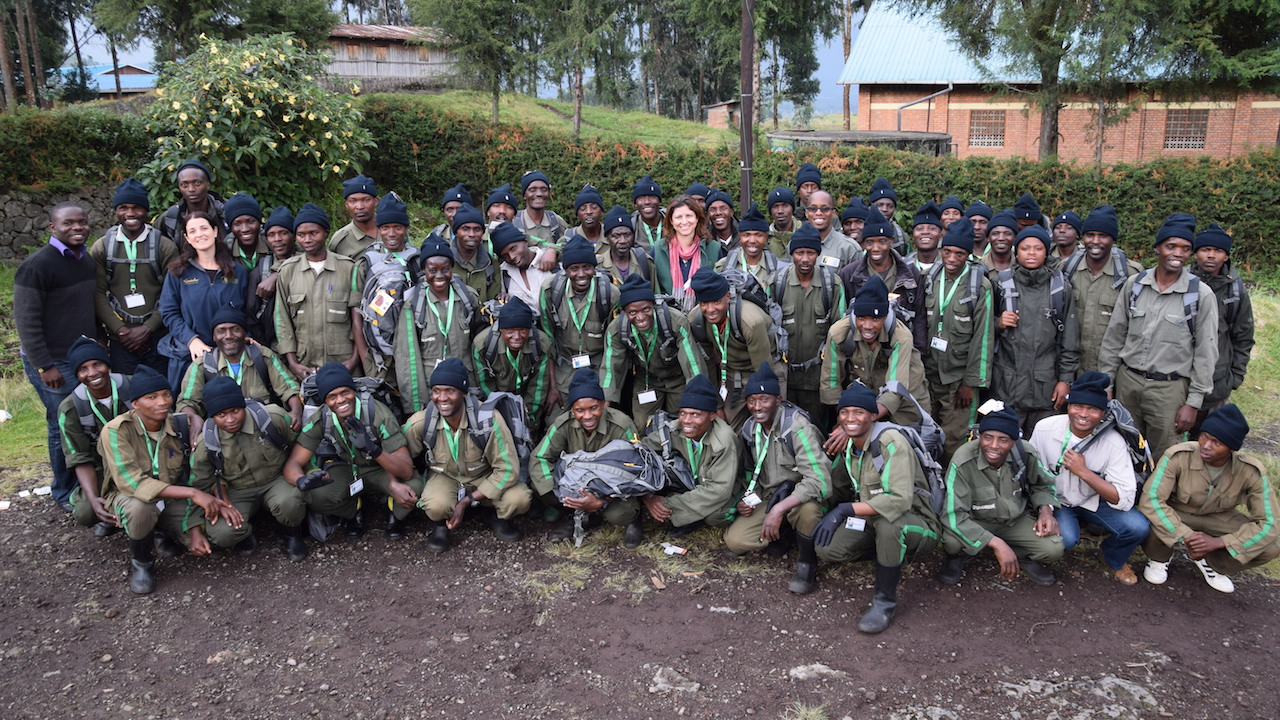 The Karisoke Research Center Gorilla Trackers and Antipoachers Nominated by Dian Fossey Gorilla Fund International
