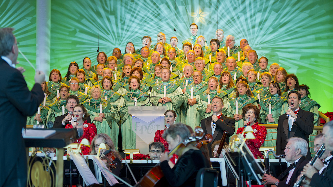 Candlelight Processional at Epcot