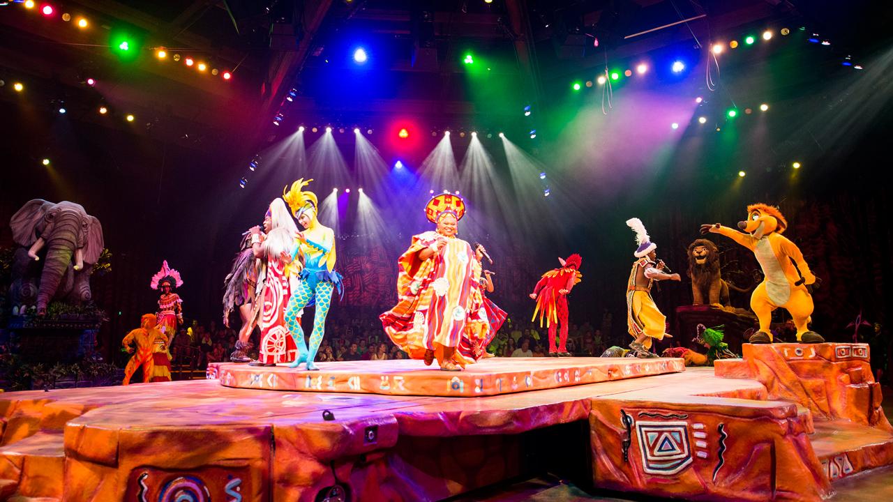 """Festival of the Lion King"" at Disney's Animal Kingdom"