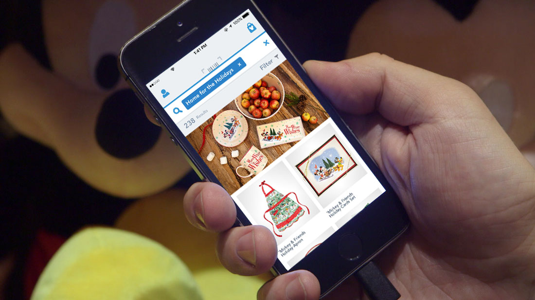 Find Magical Deals This Holiday Season Using the Shop Disney Parks App