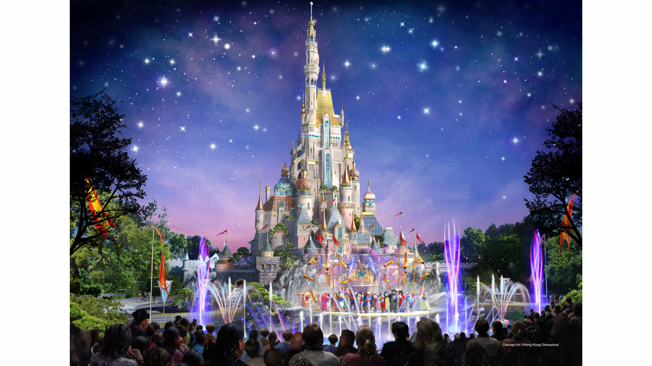 Hong Kong Disneyland Announces Plan For Multi Year