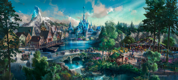 Hong Kong Disneyland Announces Plan for Multi-Year Expansion With New Attractions and Entertainment