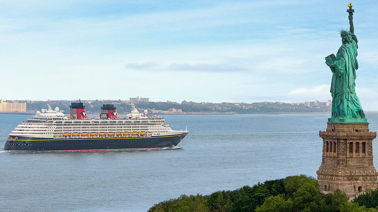 "Disney Magic Says ""See You Real Soon"" to New York City"