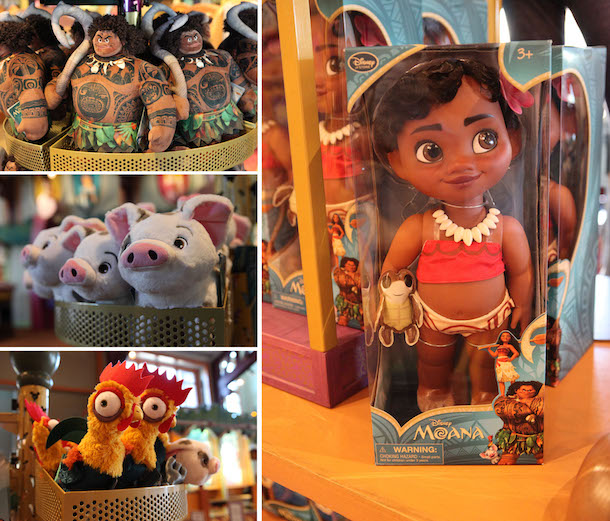 Find Your Own Way with Merchandise from Disney's 'Moana' at Disney Parks