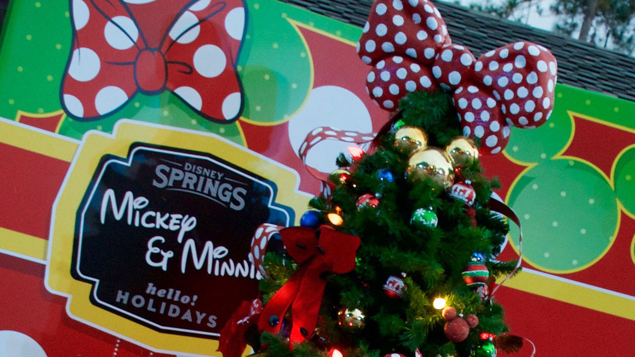 Disney Springs Christmas Tree Trail is Now Open! | Disney Parks Blog