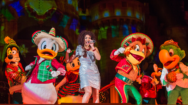 A Look Inside 'Mickey's Most Merriest Celebration' Stage Show at Magic Kingdom Park