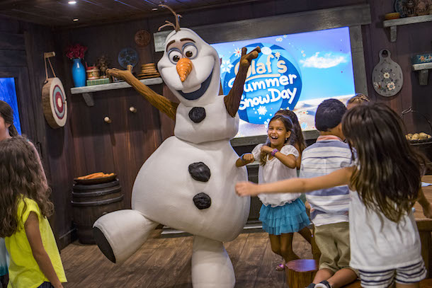 Frozen Adventures with Olaf on the Disney Wonder