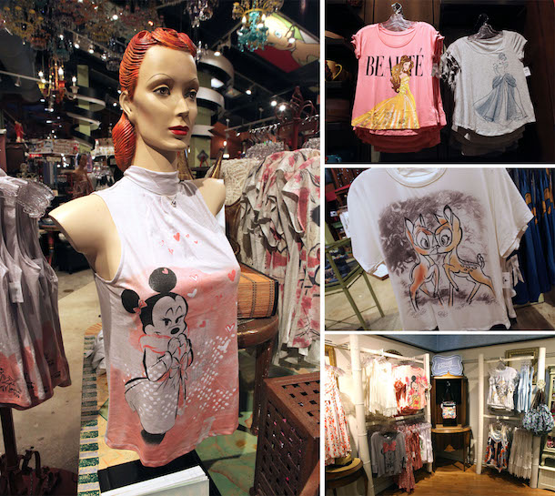 Merchandise from Disney Boutique