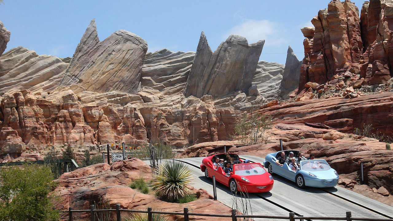 Mother Nature Meets The Mother Road In Cars Land At Disney - Disney adventure