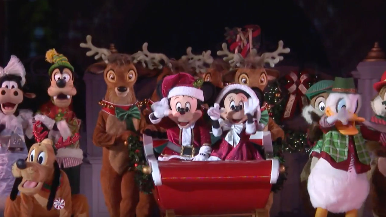 Video: Sneak A Peek At 'Mickey's Most Merriest Celebration' Stage Show
