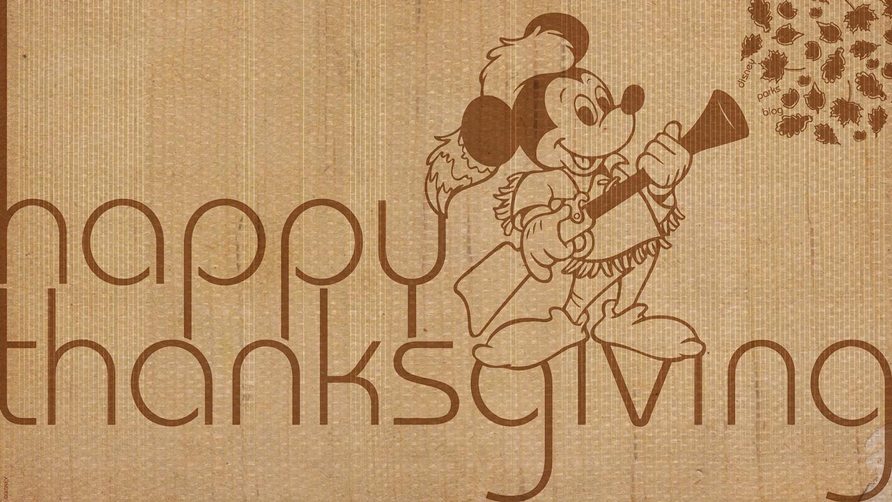Enjoy Three Disney Parks Blog Thanksgiving Wallpapers ...