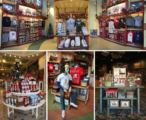 Favorite Holiday-Themed Gifts in 2016 from Disney Parks