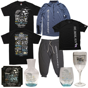 Celebrate Disney Wine & Dine Half Marathon Weekend 2016 With Commemorative Merchandise