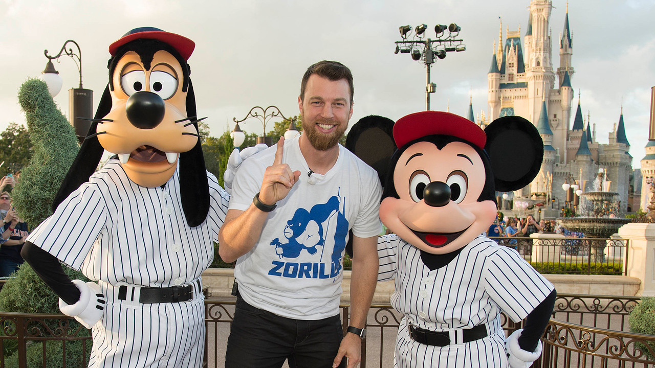 Video: World Baseball Champion MVP Ben Zobrist Celebrates at Walt Disney World