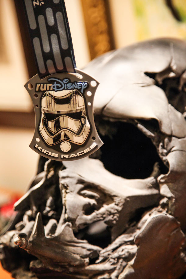 runDisney Star Wars Half Marathon – The Dark Side Medals