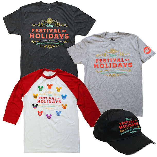 Festival of Holidays Merchandise from Disneyland Resort