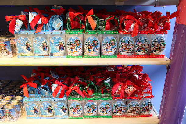 Decorative Holiday Gift Bags from Disney Parks