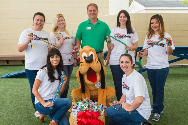 Pet Alliance of Greater Orlando Receives 'Playful' Donation from Disney Vacation Club VoluntEARS