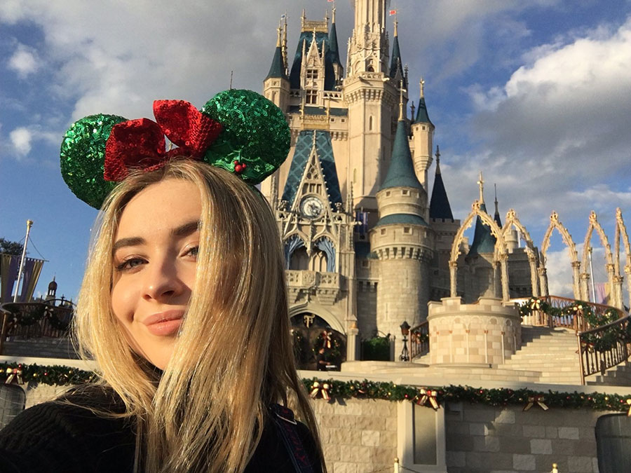 #DisneyTweens: Sabrina Carpenter's Selfies, Her Best Day Ever and More!