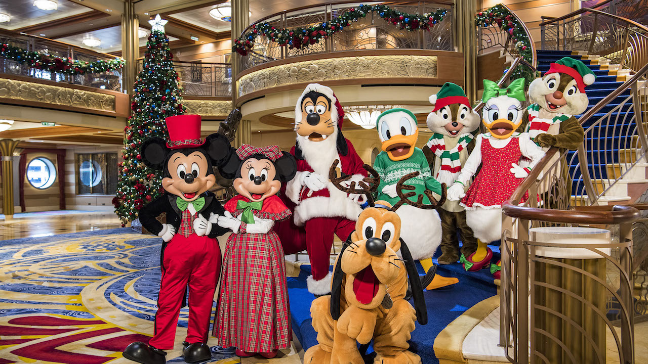 Happy Holidays from Disney Cruise Line