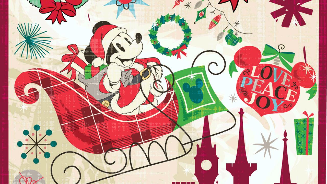 santa mickey getting ready for christmas at disney parks disney