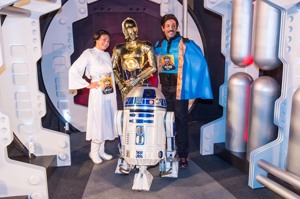Star Wars Half Marathon – The Light Side at the Disneyland Resort