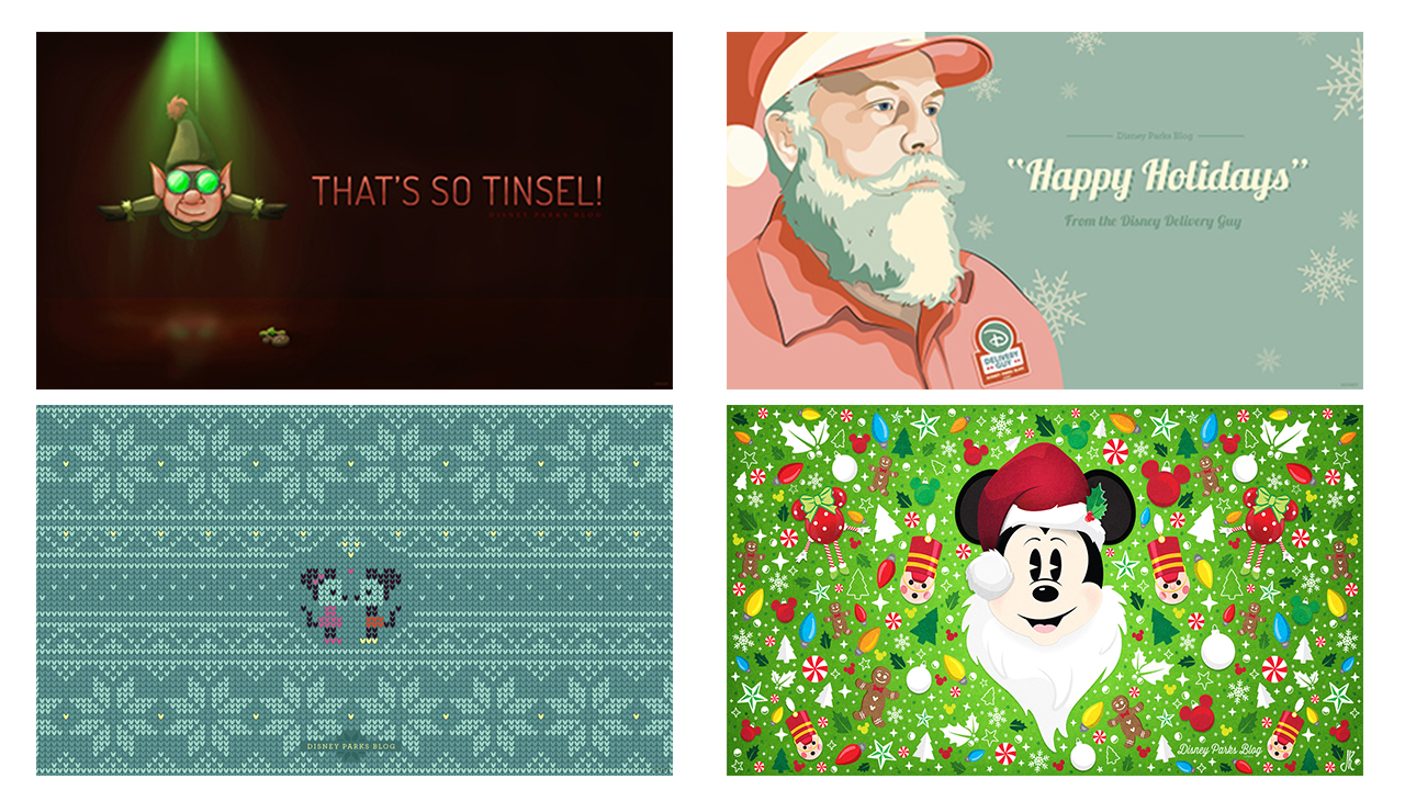 Celebrate The Holidays With 16 Disney Parks Blog Wallpapers