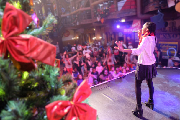 Disney Parks VoluntEARS Spread Holiday Cheer Across the Globe