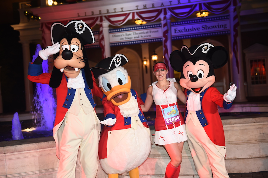 Runners Dressed in Disney-Inspired Style for Walt Disney World Marathon Weekend