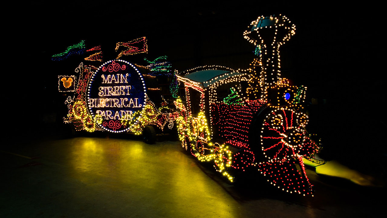 Main Street Electrical Parade Prepares Return to Disneyland Park with Classic Drum Float
