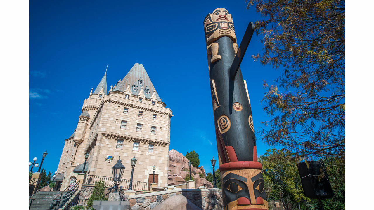 All in the Details: Storytelling Totem Poles at Epcot's Canada Pavilion