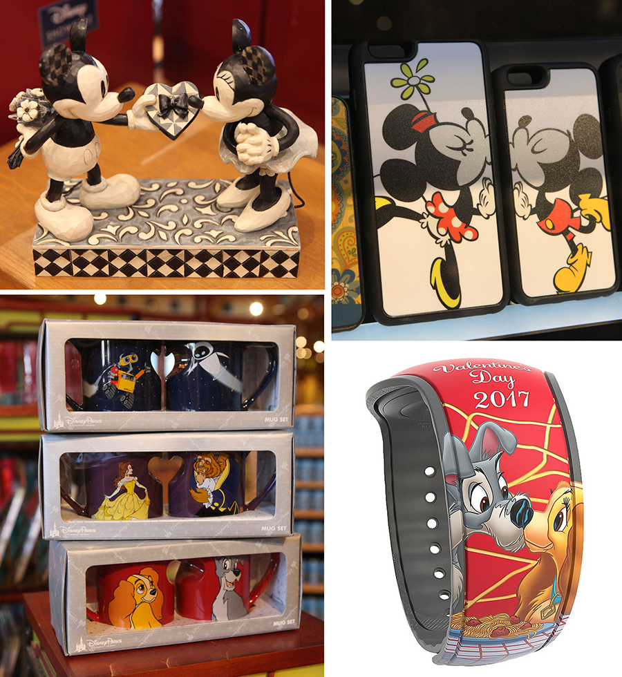 Love Is in the Air with Valentine's Day-Inspired Gifts from Disney Parks