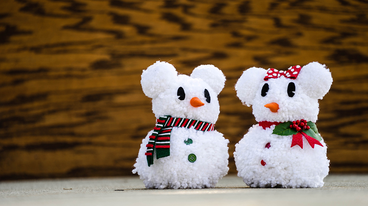 Disney Parks DIY: Make Your Own Snow Mouse