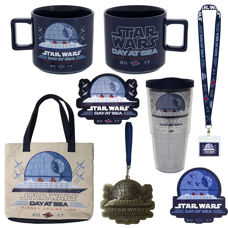 Celebrate Star Wars Day at Sea 2017 on Disney Cruise Line With Commemorative Products