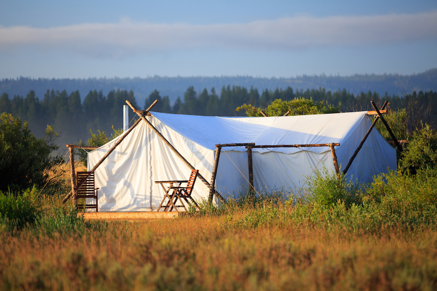 Montana glamping on Adventures by Disney vacation