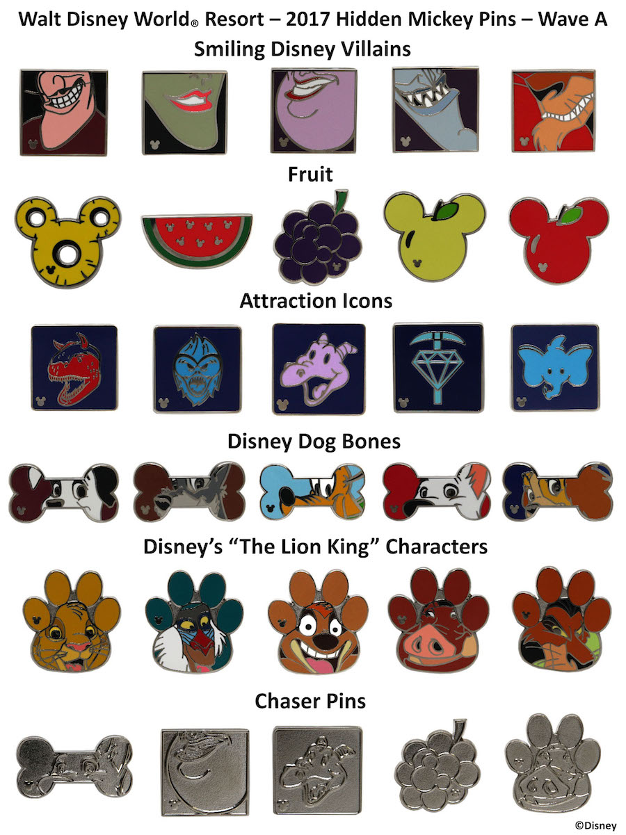 Collect And Trade New Hidden Mickey Pins At Disney Parks