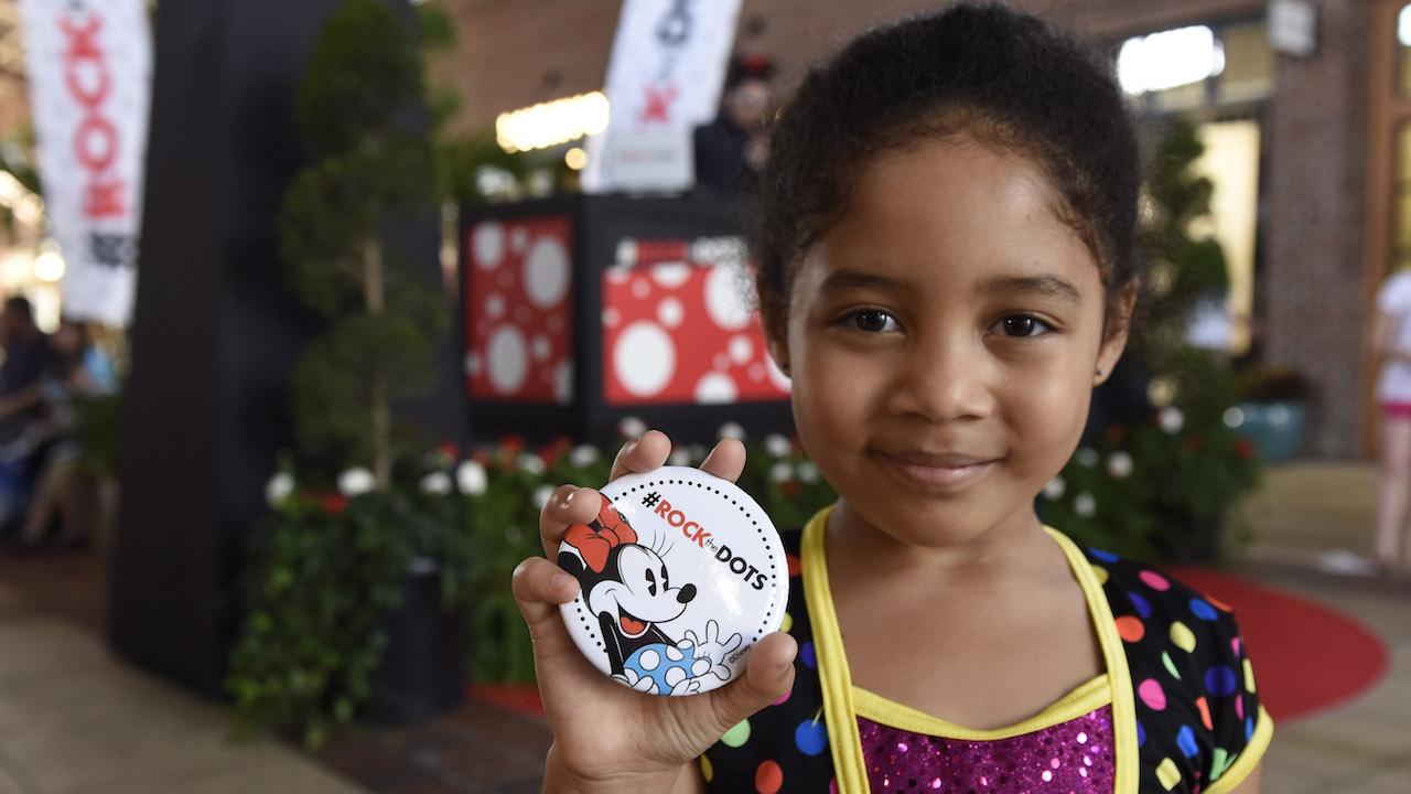 Disney Parks Guests #RockTheDots on National Polka Dot Day