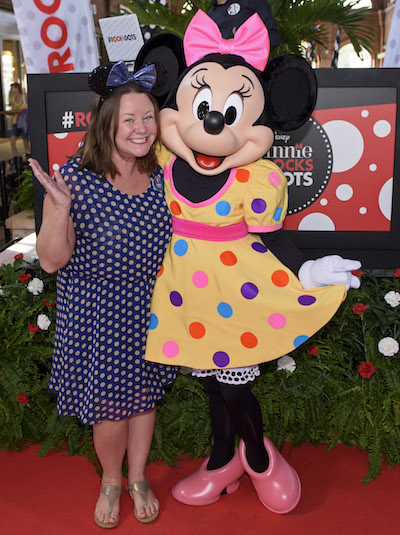 Disney Parks Guests #RockTheDots on National Polka Dot Day