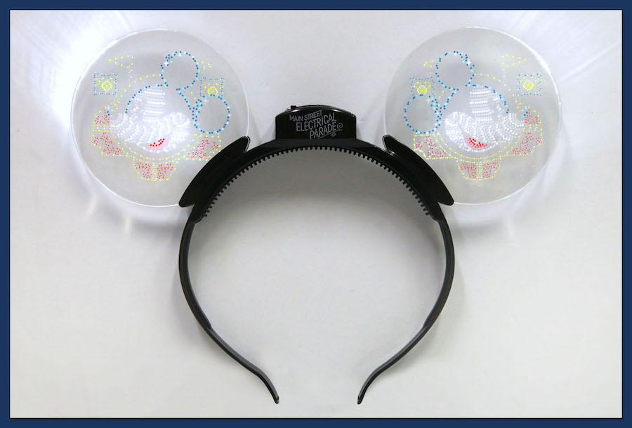 New Animated Glow Headband Celebrate Return of Main Street Electrical Parade to Disneyland Park