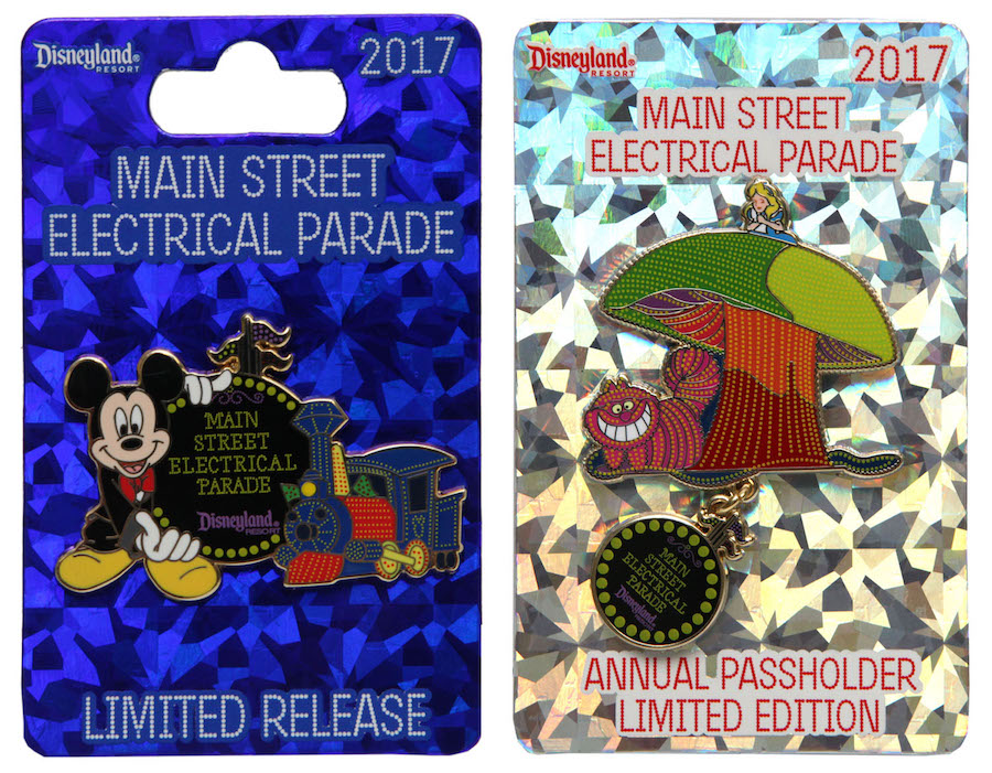New Pins Celebrate Return of Main Street Electrical Parade to Disneyland Park