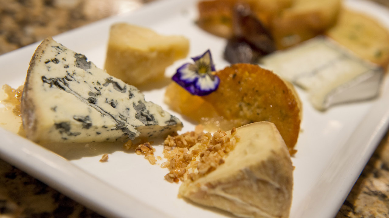 Sophisticated Cheese Plate from California Grill, Disney's Contemporary Resort